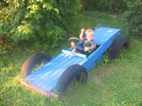 Как сделать детскую машину