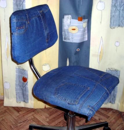 Делаем полезные вещи из старых джинсов своими руками (44 фото) 43