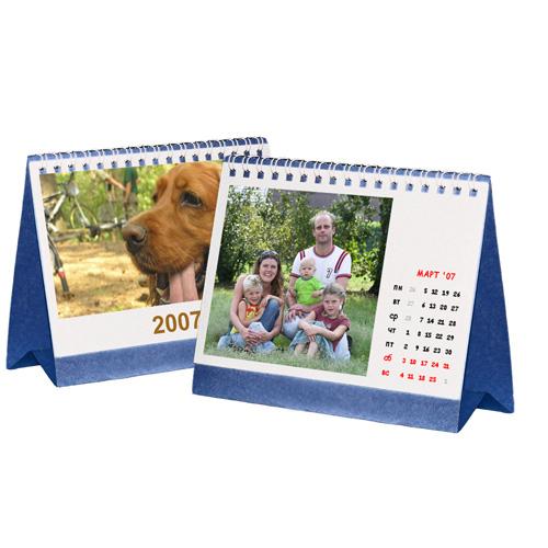 Включайте свою фантазию и принимайтесь вместе с нами за фото дизайн календарей!