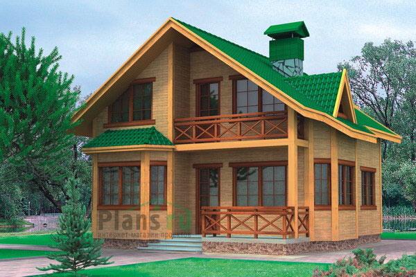 Проект дома 8х11 - оптимальное сочетание цены и качества, воплощенные в одном...