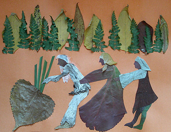 корона из картона и листьев своими руками