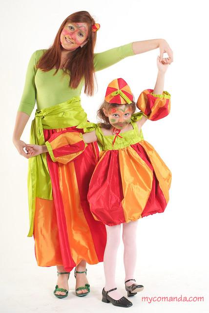 Как сделать  сшить новогодний костюм Фонарик