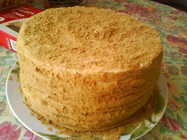 Торт рыжик рецепт с фоторецепты с фото