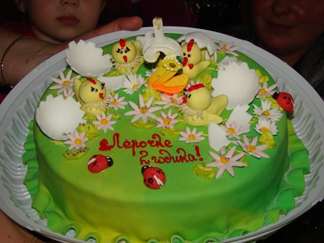 Фото тортов ко дню рождения ребёнка