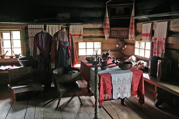 Кострома. Музей деревянного зодчества