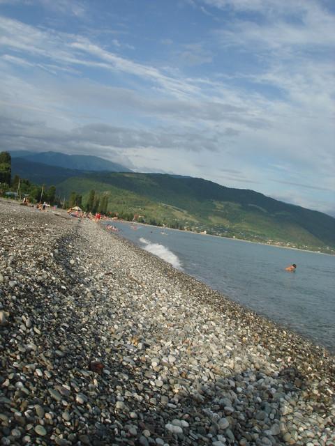Приморское абхазия фото пляж