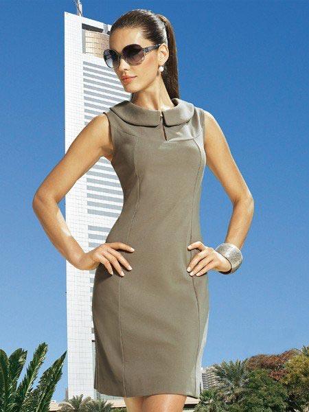 Модное платье сшить быстро