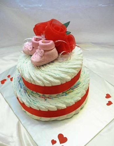 Из памперсов сделать лучшие торты