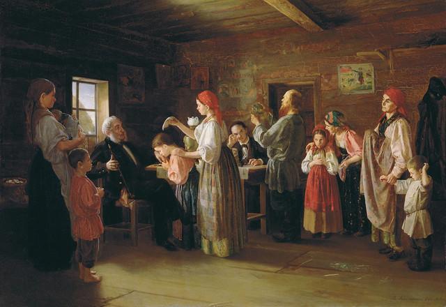 Василий Калистов Ревизия питомцев воспитательного дома 1866