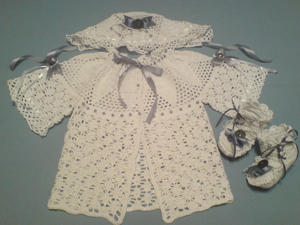 Вязание крючком для новорожденных девочек.