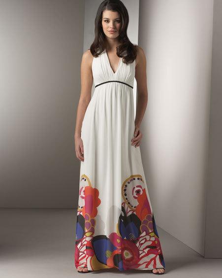 белые сарафаны в пол - Все о моде