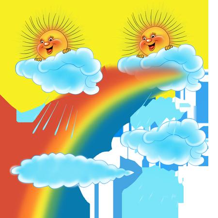 язык картинка тучка солнце радуга птичка принять решение