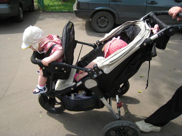 Дополнительное сиденье на коляску своими руками