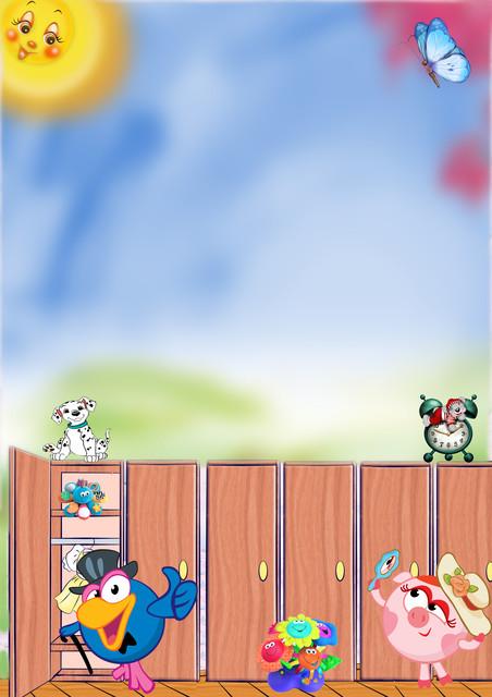 Картинка мой шкафчик для детского сада