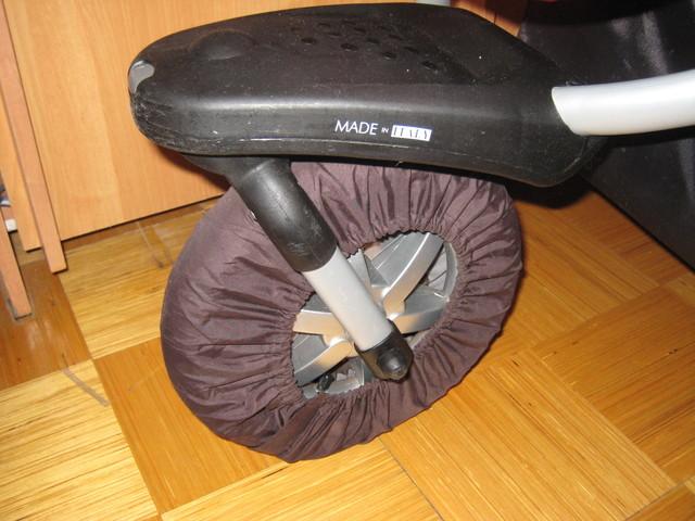 Для одинарного поворотного колеса на липучке.