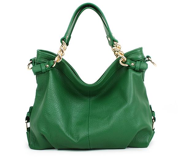 Девочки, есть ярко-зеленого цвета сумка. с чем ее носить лучше? с чем будет смотреться выгоднее