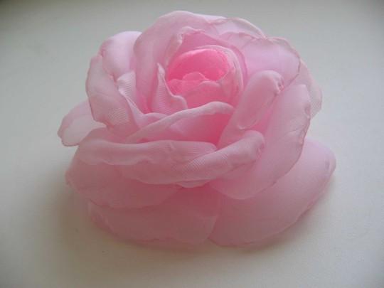 Как сделать розу из вуали своими руками