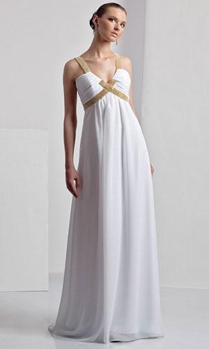 Выкройка платья стиле ампир.