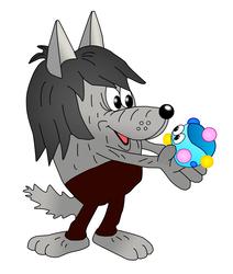 Волк из капитошка картинки