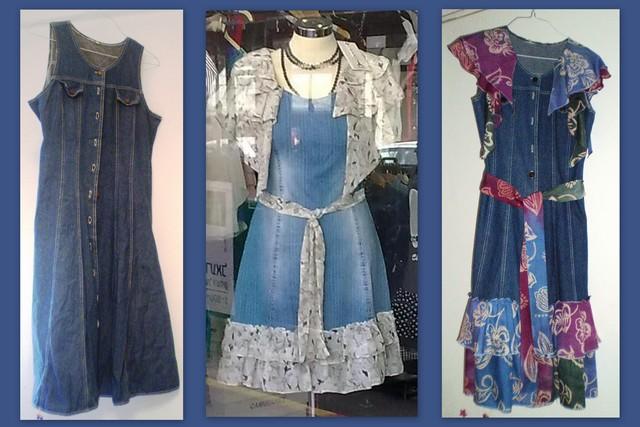 Из старого новое платье своими руками