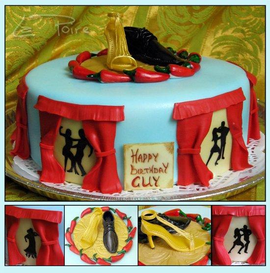 Торт для танцевальной школы фото