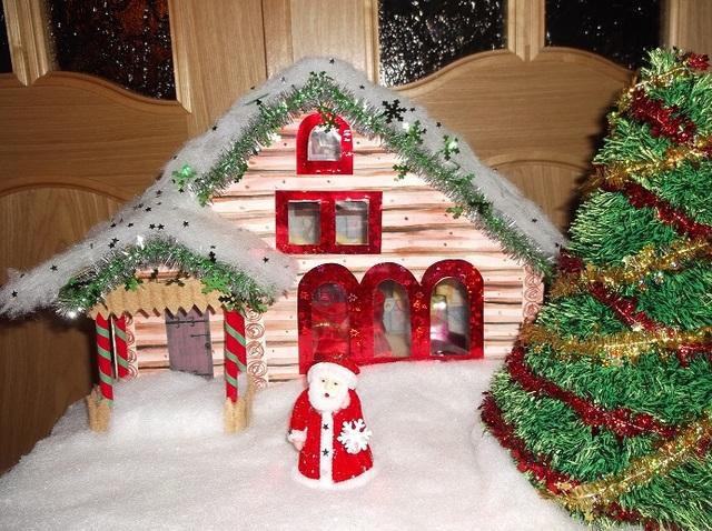 Дед мороз на дом своими руками
