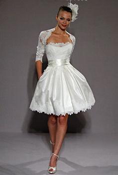 Поэтому, только для вас, вариант - короткое свадебное платье! свадебные платья. В