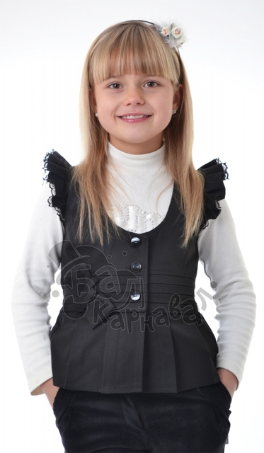 Красивая жилетка для девочек