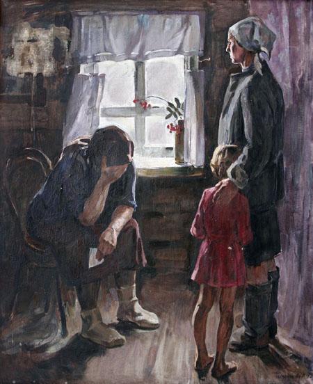 Материнство > Живопись и графика о Великой Отечественной войне Увеличить Позднякова Н Дипломная работа