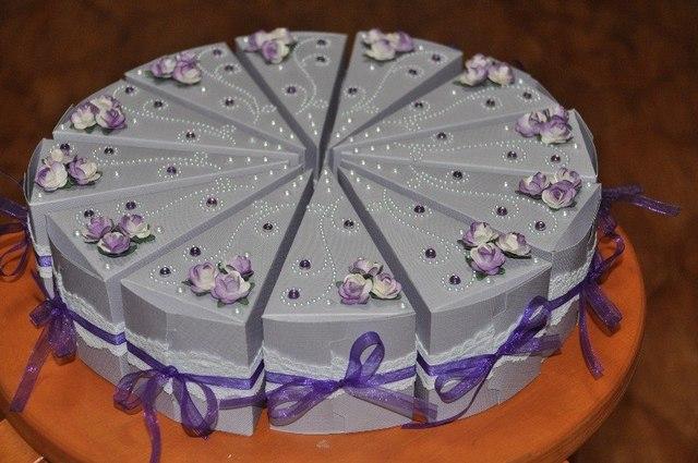 Как сделать картонный торт