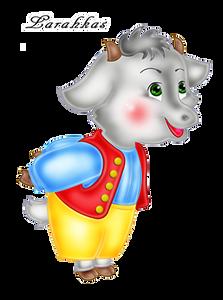 Киригами, картинки козлята из сказки для детей