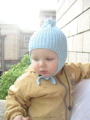 детские шапочки с ушками.