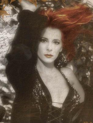 Горячая Темнокожая Бейба С Рыжими Волосами