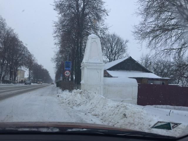 Новогодняя сказка в Суздале. 2019.
